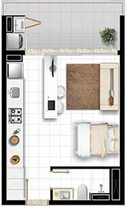 Loft Studio Xavante